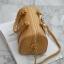 KEEP ( Sheep Leather Pillow Bag - Light.Brown ) thumbnail 3